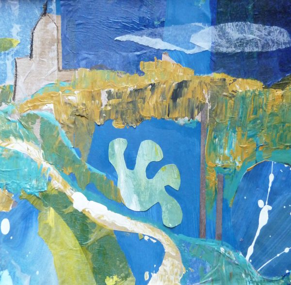 Sea at St Ives (Card)